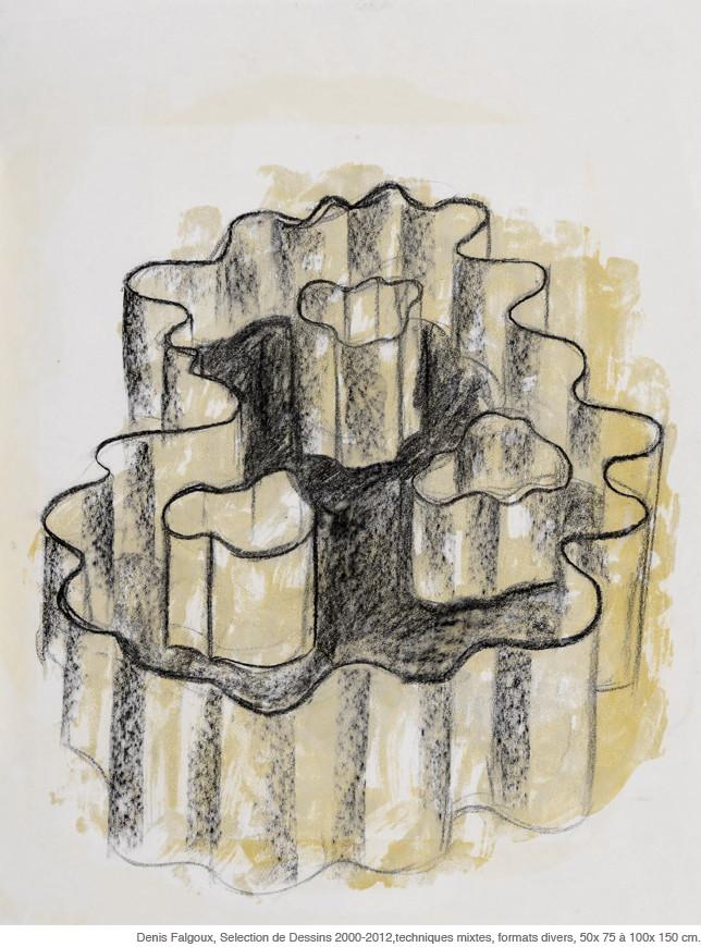 PANSER/PENSER L'INFINI - Dessin, Denis Falgoux, Musée Roger Quillot, Clermont Ferrand, Auvergne