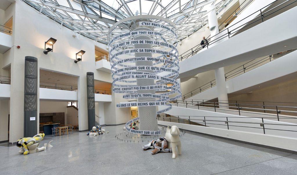COUVERTURES DE LIT - Denis Falgoux ; Musée Roger Quillot, Clermont-Ferrand