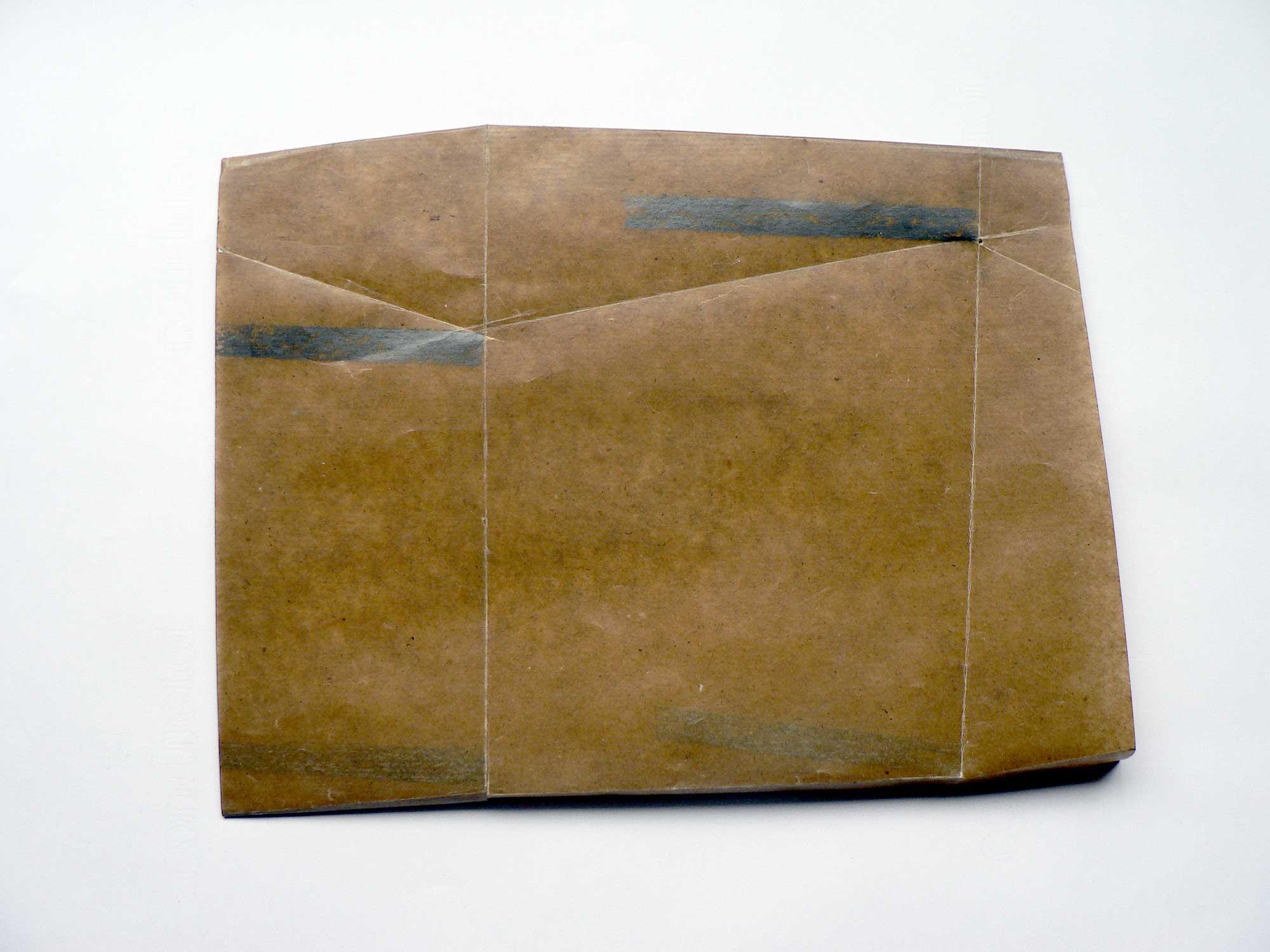 Dessin dessous volume - 2013 – Mine de plomb sur papier paraffiné. 35 x 25 cm. Denis Falgoux